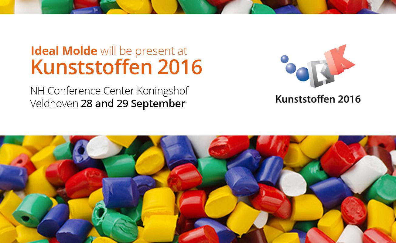 A Ideal Molde estará presente na feira Kunststoffen 2016, nos dias 28 e 29 de Setembro.